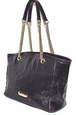 Versace Collection Patent Leather Tote, Pre-owned (See Condition) EGGPLANT, $495