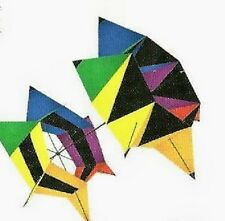 KITES CELLULAR 3-D SPIN BOX  ROTATING SINGLE LINE RIP-STOP FABRIC KITE