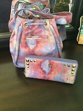 Juicy Couture Celestine Multi-color Bucket Crossbody Bag W/matching Wallet!
