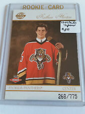 2003-04 Pacific Supreme #118 Nathan Horton RC  268/775 : Florida Panthers