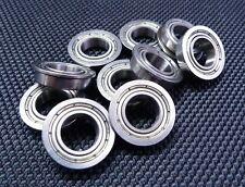 "(4 PCS) (FR8zz) (1/2"" x 1-1/8"" x 5/16"") Flange Metal Shielded Ball Bearing FR8"
