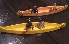 Two Timpo  Canoes one Indian one pioneer