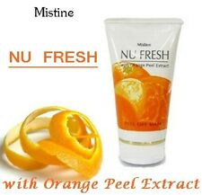 Mistine Nu Fresh - Peel Off Mask Orange Peel Extract Brighten Radiant Skin 50g.