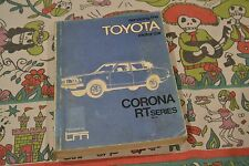 RT81 RT80 RT84 RT83 Corona 1971 1972 1973 12R 2R Toyota manual technical     740