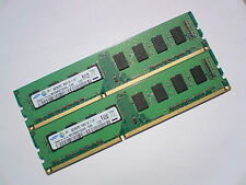 8GB 2x4GB DDR3-1333 PC3-10600 1333Mhz SAMSUNG M378B5273DH0-CH9 PC DESKTOP RAM