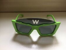 New Walter Van Beirendonck/Linda Farrow Green Square Sunglasses