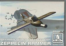 Brengun Zeppelin Rammer , German Glider Interceptor 1/72 013 ST