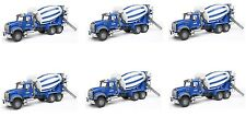 Cement Construction Truck Edible Party Image Cupcake Topper Frosting Circles