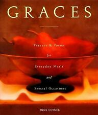 Graces Prayers Poems Everyday Meals Special Occasions Christian Cotner BRAND NEW