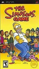 NEW SEALED The Simpsons Game PSP Video UMD Game television cartoon BLACK LABEL
