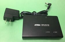 ATEN Video splitter 2 Port VGA Model VS82A w/ Power Supply
