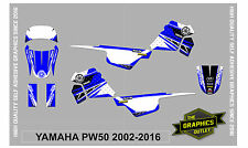 YAMAHA PW50 2002-16 FULL KIT  MOTOCROSS MX GRAPHICS DECALS STICKERS