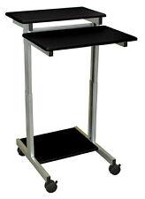 LUXOR Luxor/H Wilson Standup-24-B Standup Workstation Black 24Wx28Dx31-46H NEW