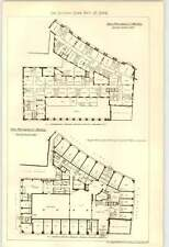 1906 The Picadilly Hotel Ground Floor And Second Floor Plans