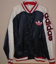 Vintage 1980s Adidas Size XLarge Run DMC Trefoil with Kent weight lifting back