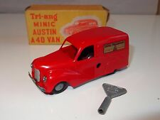 ( eb) triang minic AUSTIN A40 VAN with key