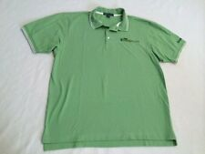 Mens XL Team Herbalife Custom Embroidered Green Polo Shirt Short Sleeve
