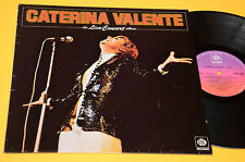 CATERINA VALENTE LP LIVE CONCERT ALBUM ORIG UK 1976 EX TOP COLLECTORS !