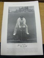 1895 Cricket: Famous Plate/Picture - Smith, C [Lancashire] - on reverse - Group,