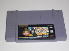 Super Mario All Stars 7 N 1 Super Nintendo SNES Game Cartridge - Tested!