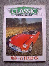 Classic & SportsCar (Oct 1987) MGB,TC, 300SLR, BRM Mirage, NSU Wankel Spider, AC