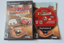 Cars: Mater-National Championship (Sony PlayStation 2, 2007) ps2 complete