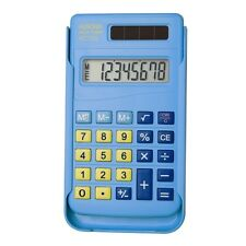 Aurora HC-106 Solar Calculator With Slide-on Cover