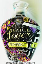 2016 LABEL LOVER INSTANT+DELAYED BRONZER INDOOR TANNING BED LOTION DESIGNER SKIN