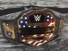 WWE UNITED STATES CHAMPIONSHIP WRESTLING BELT ADULT SIZE WWF WCW US TITLE NEW