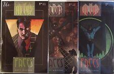 """Batman Legends of the Dark Knight #28-30 Set """"Faces"""" NM- 1st Print DC Comics"""