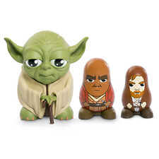 STAR WARS YODA STACKABLE CHUBBY 3 PACK