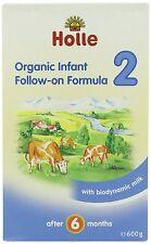 Holle Bio-babymilch - Säugling Folgebelege Formula 2 - Einzel Karton 600g