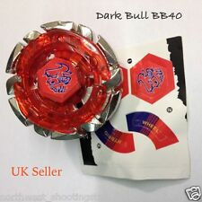 Dark Bull Metal Fusion 4D Beyblade BB40 - UK Seller