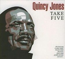 Quincy Jones Take Five CD NEW SEALED Jazz Zoot Sims
