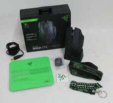 Razer NAGA Epic Chroma multi-colore wireless Mac/PC 19 pulsante MMO Gaming Mouse