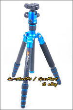 MeFoto RoadTrip A1350Q1 Aluminium Tripod Monopod Kit BLUE  * FAST SHIP