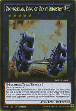 Digvorzhak, King of Heavy Industry Gold Rare Yugioh Card PGL3-EN064