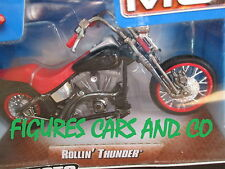 MOTO 1/18 HARLEY DAVIDSON  ROLLIN' THUNDER   2007  HOT WHEELS