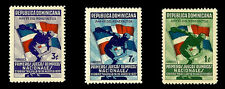 Dominican Republic. National Olympic Games.1937. Scott 326-328. MLH (BI#11)
