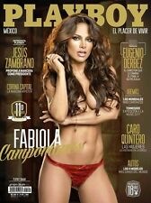PLAYBOY MEXICO FABIOLA CAMPOMANES OCTOBER 2013 PLAYBOY MEXICAN EDITION OCT /13