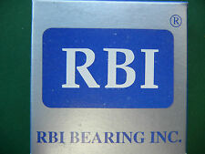 """RBI 1630-2RS Radial Ball Bearing 3/4"""" Bore X 1-5/8"""" OD X 1/2"""" WIDE NEW IN BOX"""
