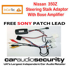 Nissan 350z Coupe Roadster Steering Control Bose Adaptor for Sony Stereo