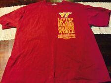 Virginia Tech Hokies T Shirt Sz Xl Official Espn College Game Day Gear