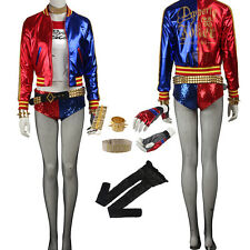 Original Batman Suicide Squad Joker Harley Quinn Cosplay Costume Cos Accessories