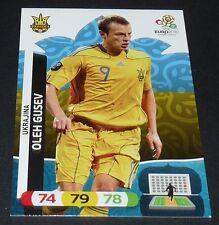 OLEH GUSEV UKRAINE YKPAÏHA UKRAJINA FOOTBALL CARD PANINI UEFA EURO 2012
