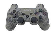 Official Sony PS3 PlayStation 3 Wireless Dualshock Controller Camouflage Camo VG