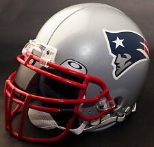 NEW ENGLAND PATRIOTS NFL Gameday REPLICA Football Helmet w/ OAKLEY Eye Shield