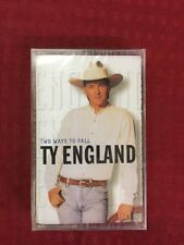 TY ENGLAND - TWO WAYS TO FALL, 1996 BMG, CASSETTE, BRAND NEW, FACTORY SEALED!!!