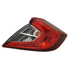 TYC Right Side Tail Light Assy for Honda Civic Sedan 2016-2017 Models
