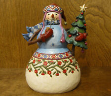 "Jim Shore Heartwood Creek #4017671 SNOWMAN ""BE COOL"" New from our Retail Store"